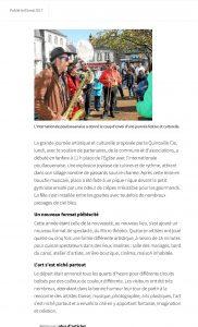 Quincaille Cie. Un 1er mai en fanfare – Huelgoat – LeTelegramme